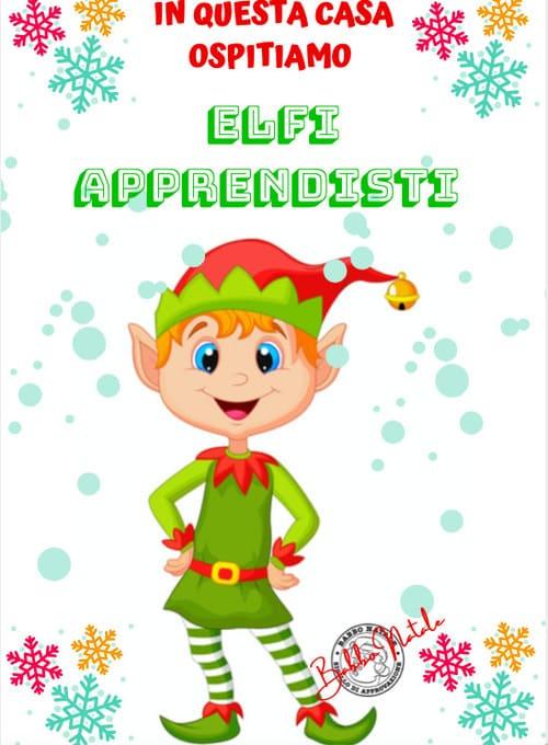 Tradizione natalizia dell'elfo elf on the shelf